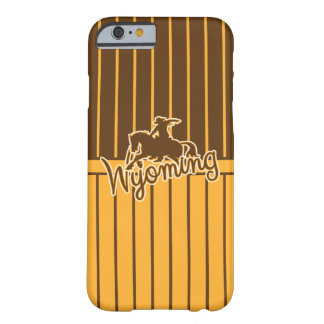 Wyoming Cowboys, Gold and Brown Barely There iPhone 6 Case