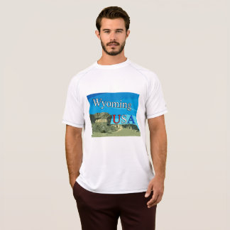 Wyoming Double Dry Mesh T-Shirt
