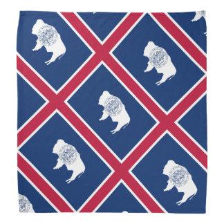 Wyoming flag bandana