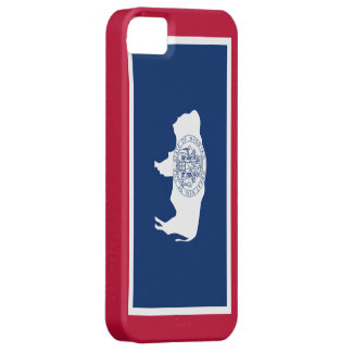Wyoming flag barely there iPhone 5 case