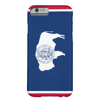 Wyoming Flag Barely There iPhone 6 Case