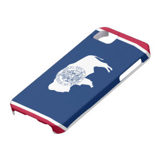 Wyoming Flag Case For The iPhone 5