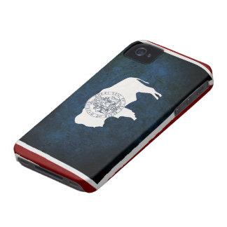 Wyoming Flag iPhone 4 Case