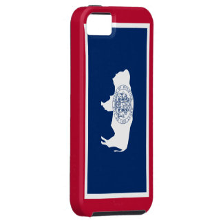 Wyoming flag iPhone 5 cover