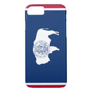 Wyoming Flag iPhone 7 Case