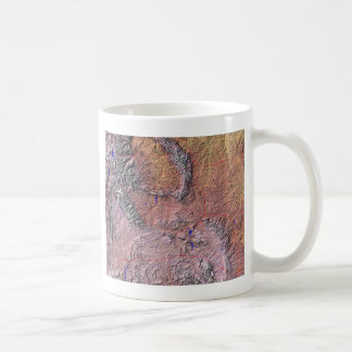 Wyoming Flag + Map Mug