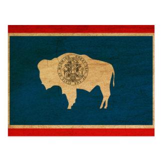 Wyoming Flag Postcard
