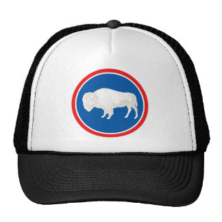 Wyoming Flag Theme 00 Mesh Hat
