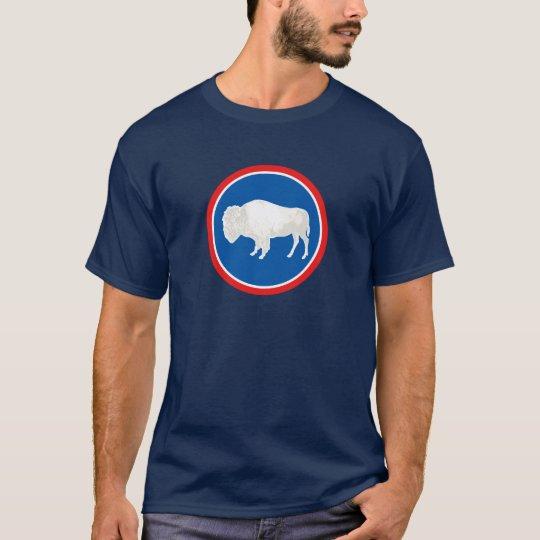 Wyoming Flag Theme 00 T-Shirt