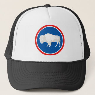 Wyoming Flag Theme 00 Trucker Hat
