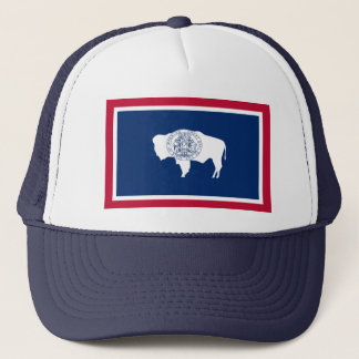 Wyoming Flag Trucker Hat