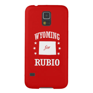WYOMING FOR RUBIO GALAXY S5 COVERS