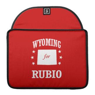 WYOMING FOR RUBIO MacBook PRO SLEEVE