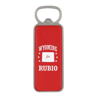 WYOMING FOR RUBIO MAGNETIC BOTTLE OPENER