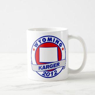 Wyoming Fred Karger Basic White Mug
