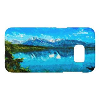 Wyoming Grand Teton Mountains Abstract