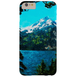 Wyoming Grand Teton Mountains Abstract Barely There iPhone 6 Plus Case