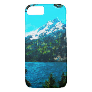 Wyoming Grand Teton Mountains Abstract iPhone 7 Case