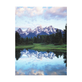 Wyoming, Grand Teton National Park 3 Canvas Print