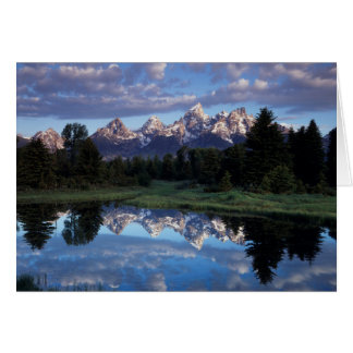 Wyoming, Grand Teton National Park 4 Card