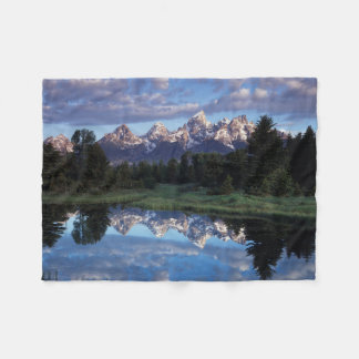 Wyoming, Grand Teton National Park 4 Fleece Blanket