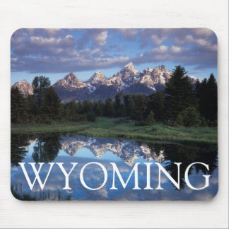 Wyoming, Grand Teton National Park 4 Mouse Mat
