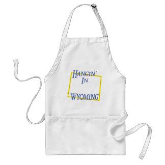 Wyoming - Hangin' Standard Apron