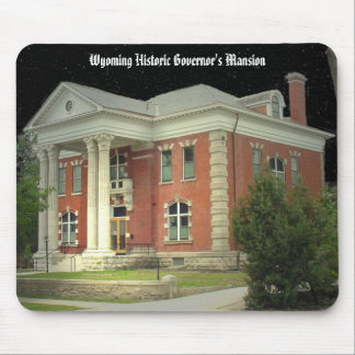 Wyoming Historic Governor s Mansion Mouse Pad