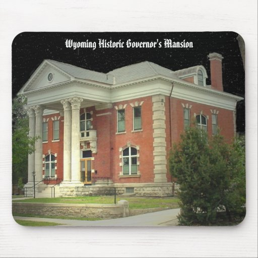 Wyoming Historic Governor's Mansion Mouse Pad