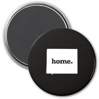 Wyoming Home 7.5 Cm Round Magnet