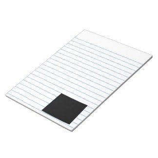 Wyoming in Black Notepad