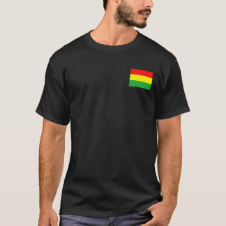 Wyoming in Rasta Colors T-Shirt