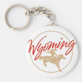 Wyoming Key Ring