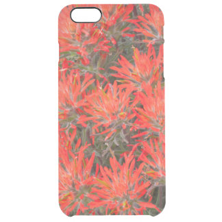 Wyoming, Lincoln County, Desert Paintbrush Clear iPhone 6 Plus Case