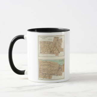 Wyoming, Livingston, Orleans, Genesee Mug