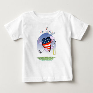 Wyoming loud and proud, tony fernandes baby T-Shirt