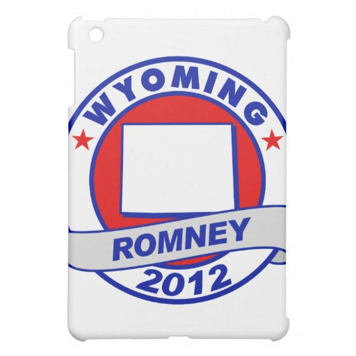 Wyoming Mitt Romney iPad Mini Covers
