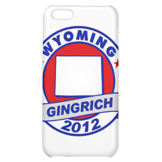 Wyoming Newt Gingrich iPhone 5C Cases