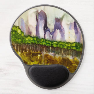 Wyoming - Original alcohol ink design Gel Mouse Mat
