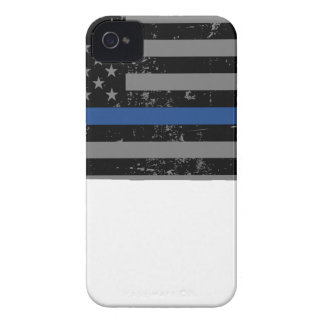 Wyoming Police & Law Enforcement Thin Blue Line iPhone 4 Cover
