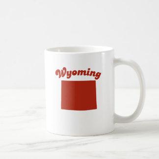 WYOMING Red State Mug