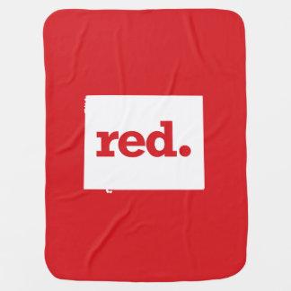 Wyoming Republican Receiving Blankets