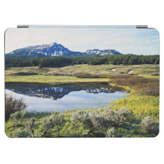 Wyoming, Rocky Mountains, A mountain peak iPad Air Cover