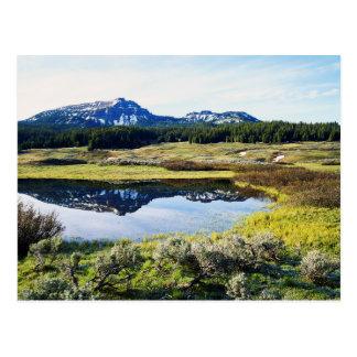 Wyoming, Rocky Mountains, A mountain peak Postcard
