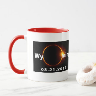 Wyoming Solar Eclipse Mug