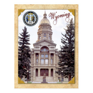 Wyoming State Capitol, Cheyenne, WY Post Card