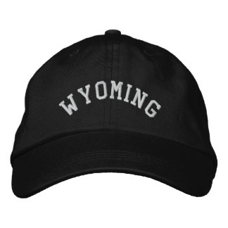 Wyoming State Embroidered Embroidered Hat