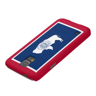 Wyoming state flag galaxy s5 covers
