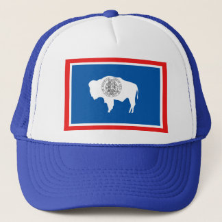 Wyoming State Flag Trucker Hat