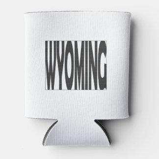 Wyoming State Name Word Art Black